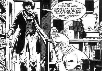 File:Doctor Who and the Iron Legion Fourth Doctor enters shop.jpg