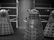 Daleks around the reproducer The Chase-4