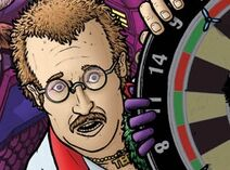 Iris at the Oche Ted