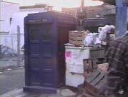 2 TARDIS props Bidding Adieu