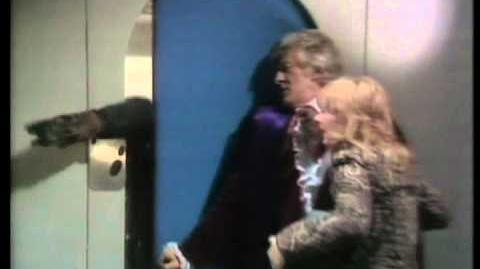 Doctor and Jo encounter mutant - The Mutants - BBC