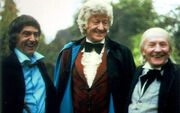 The Three Doctors Promotional image