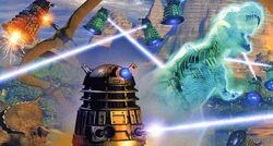 Dalek Wars BIT 007 Daleks vs Dinos