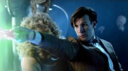 The Doctor Defeats The Silence - Day Of The Moon - Doctor Who - BBC