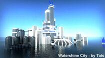 Watershine City By Tats