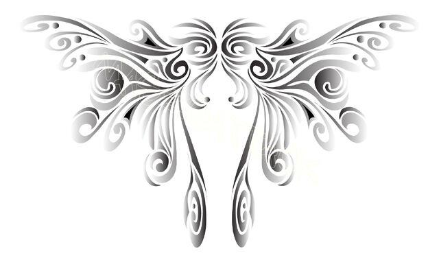 File:Butterfly Wing Tattoo by Maszeattack.jpg