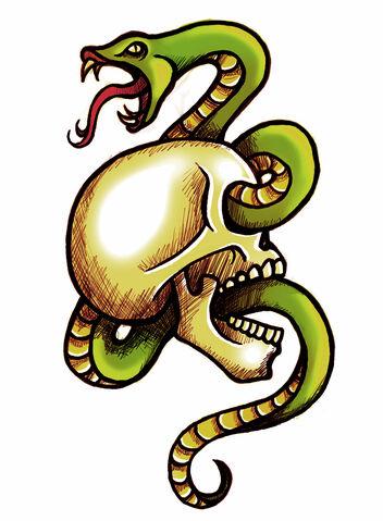 File:Snake and skull by kupo nut89-d2ouxei.jpg
