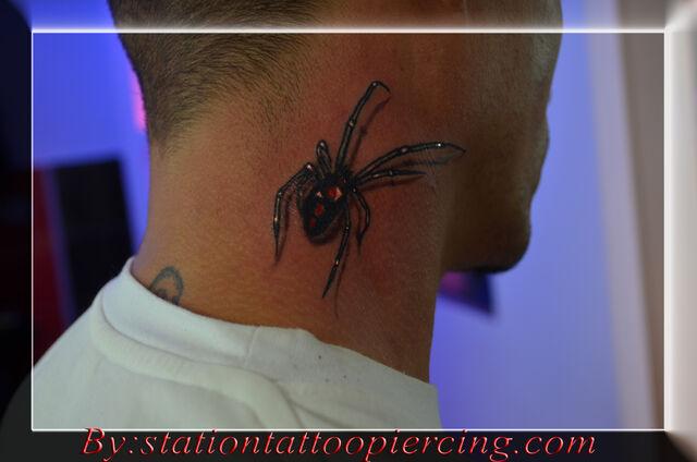 File:Black widow spider tattoo 3d.jpg