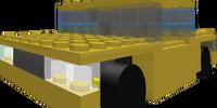 Plastic Brick Taxi