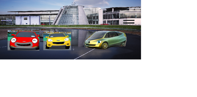 File:Speed Shine and Bionic At the Mercedes Benz World.png