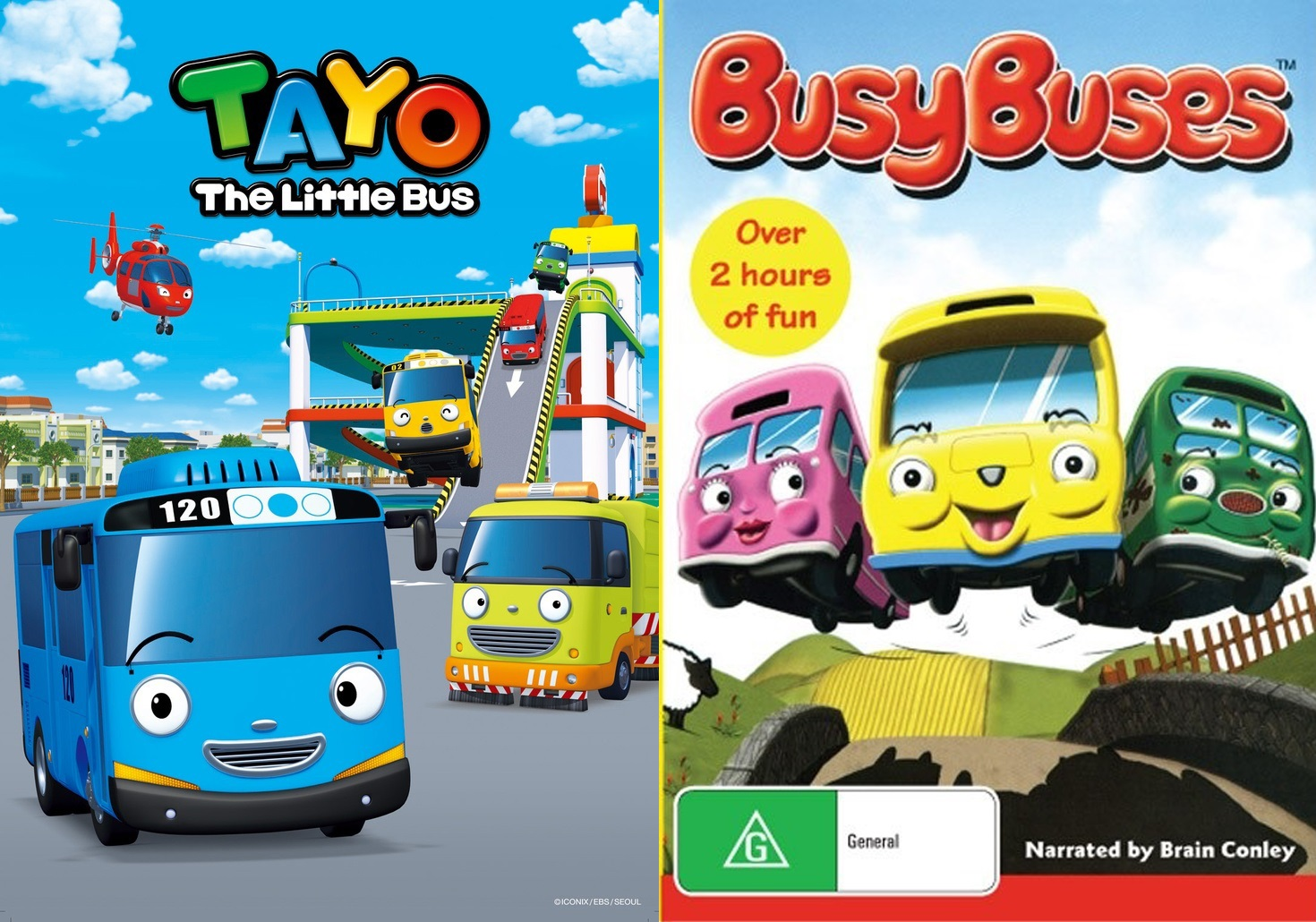 Image - Tayo and busy buses.jpg | Tayo the little bus Wiki