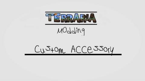 Terraria tConfig Modding Tutorial 5 - Custom Accessory