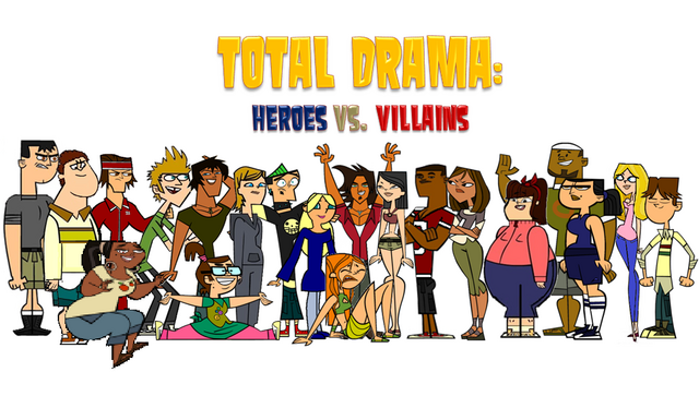File:Total Drama Heroes vs Villains fan made cast.png