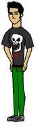 Brad as Kuro
