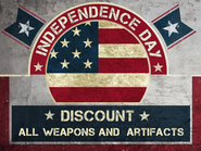 Independence Day Discounts