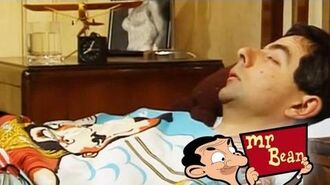 Mr Bean - Getting up late for the dentist