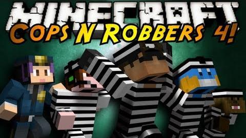 Minecraft Mini-Game COPS N ROBBERS 4!
