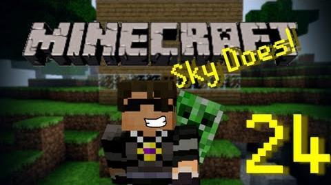 Sky Does Minecraft Episode 24 Moar Diamond Plz