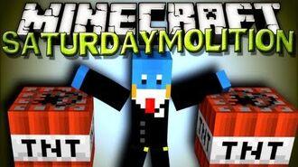 Minecraft SaturDaymolition - MANSION EXPLOSION!! - 1