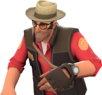 Sniper with the Professional's Panama TF2