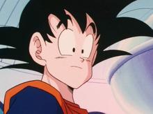 Goku on the ship