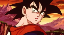 Goku mistakes Cooler