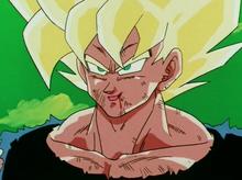 Goku tells Freeza what he is