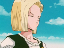 Annoyed Android 18