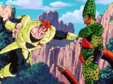 Android 16 attacks Semi-Perfect Cell again
