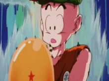 Krillin's potential is unlocked