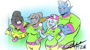 Puddin's Family Baseball team