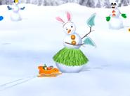 Hula snowman