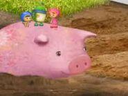 Piggy back ride