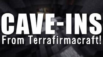 MINECRAFT UNMODDED Cave-ins from Terrafirmacraft - Vanilla Minecraft!