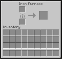 Iron Furnace GUI