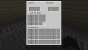 Miningcart with chest GUI