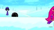 Raven snowball