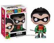 Funko Teen Titans Go Pop Vinyl Robin figure