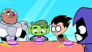 Beast Boy show and tell