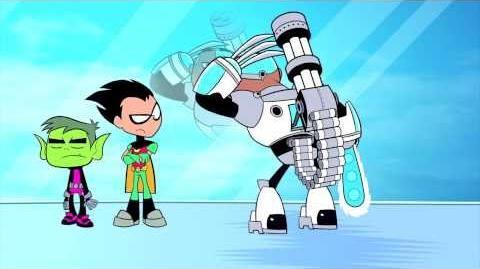 Teen Titans Go! Episode 40 Opposites Clip