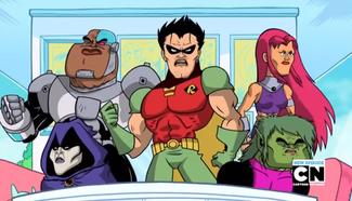 Serious Titans Go!