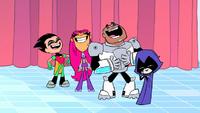 Titans laughing