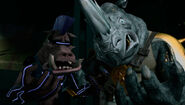 Bebop And Rocksteady Surprised By Their Mutation