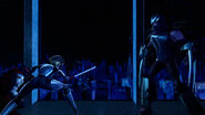 Shredder And Karai Final Showdown