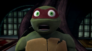 --Mikey's in trouble--