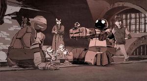 Tokka VS The World Ending Scene