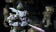 Dimension X Donatello Without Helmet