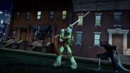 Foot Bots Versus Donatello