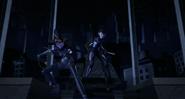 Karai And Shini Ready To Attack Super Shredder
