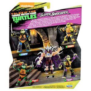 Tales Of The Teenage Mutant Ninja Turtles Package Back